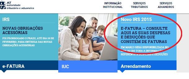 efatura despesas de irs | IRS Contabilidade Lisboa